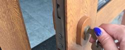 Staines locks change